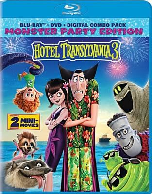 Cover image for Hotel Transylvania 3 [BLU-RAY] / Sony Pictures Animation presents ; written by Genndy Tartakovsky and Michael McCullers ; produced by Michelle Murdocca ; directed by Genndy Tartakovsky.