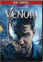 Cover image for Venom / Columbia Pictures presents ; in association with Marvel and Tencent Pictures ; produced by Avi Arad, Matt Tomach, Amy Pascal ; screenplay by Jeff Pinker & Scott Rosenberg and Kelly Marcel ; screen story by Jeff Pinkner & Scott Rosenberg ; directed by Ruben Fleischer.