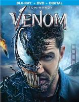 Cover image for Venom [BLU-RAY] / Columbia Pictures presents ; in association with Marvel and Tencent Pictures ; produced by Avi Arad, Matt Tomach, Amy Pascal ; screenplay by Jeff Pinker & Scott Rosenberg and Kelly Marcel ; screen story by Jeff Pinkner & Scott Rosenberg ; directed by Ruben Fleischer.