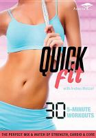 Cover image for Quick fit / Acacia.