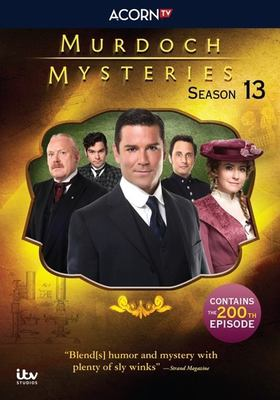 Imagen de portada para Murdoch mysteries. Season 13 / a Shaftesbury production ; a CBC original series ; in association with ITV Studios Global Entertainment Ltd. ; producer, Julie Lacey.