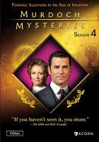 Cover image for Murdoch mysteries. Season 4 / a Shaftesbury Films Production in association with Granada International ; produced by Laura Harbin, Jan Peter Meyboom, and Stephen Montgomery ; written by Cal Coons, Phi Bedard, Larry Lalonde, Graham Clegg, Paul Aitken, Lori Spring, Carol Hay, Jean Greig, and Alexandra Zarowny ; directed by Cal Coons, Don McCutcheon, Harvey Crossland, Yannick Bisson, John L'Ecuyer, Laurie Lynd, Leslie Hop, and Gail Harvey.