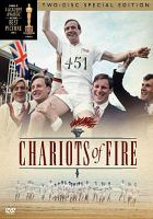 Cover image for Chariots of fire / Warner Bros. Pictures ; a Warner Bros. and Ladd Company release ; presented by Allied Stars ; an Enigma production ; original screenplay by Colin Welland ; produced by David Puttnam ; directed by Hugh Hudson.