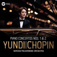 Cover image for Piano concertos nos. 1 and 2 [sound recording] / Frédéric Chopin ; Yundi Li ; with the Warsaw Philharmonic Orchestra.