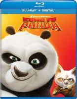 Cover image for Kung fu panda [BLU-RAY] / DreamWorks Animation ; Pacific Data Images ; produced by Melissa Cobb ; story by Ethan Reiff & Cyrus Voris ; screenplay by Jonathan Aibel & Glenn Berger ; directed by Mark Osborne, John Stevenson.