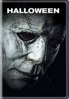 Cover image for Halloween / Universal Pictures, Miramax, and Blumhouse present ; a Malek Akkad production ; in association with Rough House Pictures ; produced by Malek Akkad, Bill Block, Jason Blum ; written by Jeff Fradley & Danny McBride & David Gordon Green ; directed by David Gordon Green.