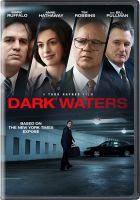 Cover image for Dark waters / screenplay by Mario Correa and Matthew Michael Carnahan ; director, Todd Haynes.