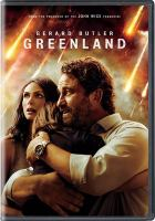 Cover image for Greenland / STXfilms and Anton present ; a Thunder Road Films, Anton, G-Base production ; in association with Riverstone Pictures ; directed by Ric Roman Waugh ; written by Chris Sparling ; produced by Basil Iwanyk, Sebastien Raybaud, Gerard Butler, Alan Siegel.