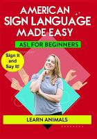 Cover image for Sign language made easy. Learn animals!. / TMW Media Group.