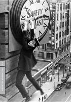 Cover image for Safety last! / Janus Films ; Harold Lloyd Entertainment, Inc. ; Hal Roach presents ; Pathécomedy ; Pathé Exchance, Inc. ; directed by Fred Newmeyer and Sam Taylor ; story by Hal Roach, Sam Taylor and Tim Whelan.