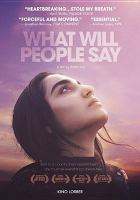 Cover image for What will people say.
