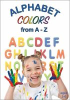 Cover image for Alphabet colors from A-Z.
