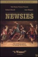 Cover image for Newsies / Walt Disney Pictures ; presented in association with Touchwood Pacific Partners I ; written by Bob Tzudicker & Noni White ; produced by Michael Finnell ; directed by Kenny Ortega.