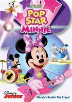 Cover image for Mickey Mouse Clubhouse. Pop star Minnie.