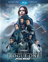 Cover image for Star Wars. Rogue One [BLU-RAY] / directed by Gareth Edwards ; screenplay by Chris Weitz and Tony Gilroy ; story by John Knoll and Gary Whitta ; produced by Kathleen Kennedy, Allison Shearmur, Simon Emanuel ; a Lucasfilm Ltd. production ; a Gareth Edwards film