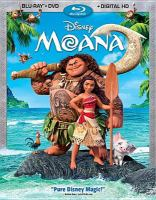 Cover image for Moana [BLU-RAY] / Walt Disney Animation Studios ; directed by John Musker & Ron Clements ; produced by Osnat Shurer ; screenplay by Jared Bush ; distributed by Walt Disney Studios Motion Pictures.