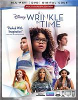 Cover image for A wrinkle in time [BLU-RAY] / Disney presents ; a Whitaker Entertainment production ; an Ava DuVernay film ; produced by Jim Whitaker, Catherine Hand ; screenplay by Jennifer Lee and Jeff Stockwell ; directed by Ava DuVernay.