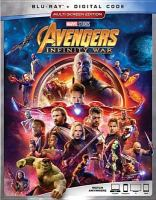 Cover image for Avengers, infinity war [BLU-RAY] / Marvel Studios presents ; produced by Kevin Feige ; executive producers, Jon Favreau, James Gunn, Stan Lee, Victoria Alonso, Michael Grillo, Trinh Tran, Louis D'Esposito ; screenplay by Christopher Markus and Stephen McFeely ; directed by Anthony and Joe Russo.
