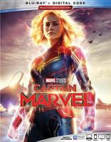 Cover image for Captain Marvel [BLU-RAY] / Marvel Studios presents ; produced by Kevin Feige ; story by Nicole Perlman & Meg LeFauve and Anna Boden & Ryan Fleck & Geneva Robertson-Dworet ; screenplay by Anna Boden & Ryan Fleck & Geneva Robertson-Dworet ; directed by Anna Boden & Ryan Fleck.