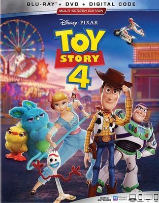 Cover image for Toy story 4 [BLU-RAY] / Disney presents ; a Pixar Animation Studios film ; directed by Josh Cooley ; produced by Mark Nielsen, Jonas Rivera ; original story by John Lasseter, Andrew Stanton, Josh Cooley, Valerie LaPointe, Rashida Jones & Will McCormack, Martin Hynes, Stephany Folsom ; screenplay by Andrew Stanton, Stephany Folsom.