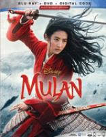Cover image for Mulan [BLU-RAY] / Disney presnets ; a Jason T. Reed/Good Fear production ; produced by Chris Bender and Jake Weiner, Jason T. Reed ; screenplay by Rick Jaffa & Amanda Silver and Lauren Hynek & Elizabeth Maring ; directed by Niki Caro.