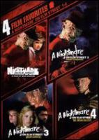 Cover image for A nightmare on Elm Street 1-4 / New Line Cinema.