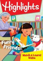 Cover image for Highlights. Furry friends! / Highlights for Children.