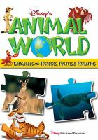 Cover image for Disney's animal world. Kangaroos. Tortoises, turtles & terrapins / Buena Vista Productions ; producer, Dominic Bowles.