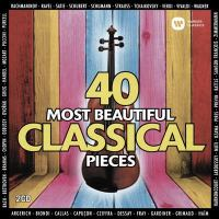 Cover image for 40 most beautiful classical pieces [sound recording].