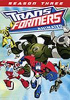 Imagen de portada para Transformers animated. Season three.