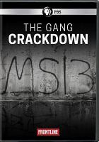 Cover image for The gang crackdown.