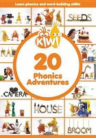 Cover image for Kiwi. 20 phonics adventures.