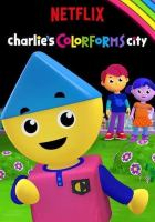 Cover image for Charlie's colorforms city. Meet Charlie.
