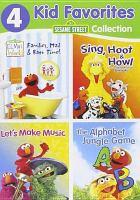 Cover image for Sesame Street collection : 4 kid favorites / Sesame Workshop.