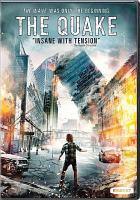 Cover image for The quake / screenplay by Harald Rosenløw Eeg & John Kåre Raake ; director, John Andreas Anderson.