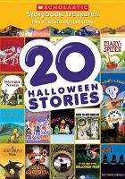 Cover image for 20 Halloween stories / Weston Woods presents ; produced by Weston Woods Studios, Inc.
