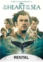 Cover image for In the heart of the sea / Warner Bros. Pictures presents ; in association with Village Roadshow Pictures ; in association with Ratpac-Dune Entertainment ; a Cott Productions/Enelmar Productions, A.I.E. co-production ; a Roth Films/Spring Creek/Imagine Entertainment production ; in association with Kia Jam ; a Ron Howard film ; produced by Joe Roth [and four others] ; story by Charles Leavitt and Rick Jaffa & Amanda Silver ; screenplay by Charles Leavitt ; directed by Ron Howard.