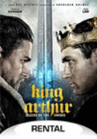 Cover image for King Arthur : legend of the sword / Warner Bros. Pictures presents in association with Village Roadshow Pictures a Weed Road/Safehouse Pictures production ; directed by Guy Ritchie ; written by Joby Harold, Guy Ritchie, Lionel Wigram ; produced by Akiva Goldsman [and 5 others].