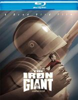Cover image for The iron giant [BLU-RAY] / Warner Bros. Pictures presents ; produced by Allison Abbate and Des McAnuff ; screen story by Brad Bird ; screenplay by Tim McCanlies and Brad Bird ; directed by Brad Bird.