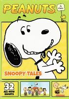 Cover image for Peanuts by Schulz. Snoopy tales.
