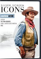 Cover image for Silver screen icons. John Wayne action / Warner Bros. Home Entertainment.
