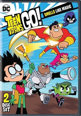 Cover image for Teen Titans go! Season 5, part 2, Smells like magic.