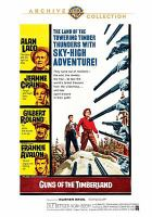 Cover image for Guns of the timberland / Warner Bros. Pictures presents ; screenplay by Joseph Petracca & Aaron Spelling ; a Jaguar production ; produced by Aaron Spelling ; directed by Robert D. Webb.