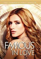 Cover image for Famous in love. The complete first season.
