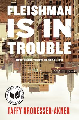 Book cover: Fleishman is in Trouble