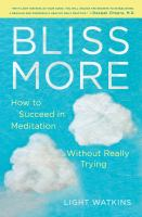 bliss more book cover