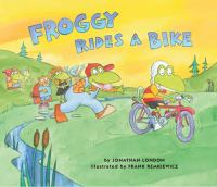 Cover image for Froggy rides a bike