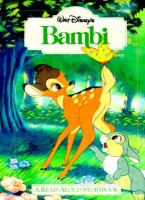 Cover image for Walt Disney's Bambi : a read-aloud storybook