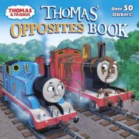 Cover image for Thomas' opposites book