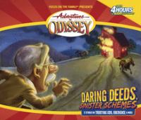 Cover image for Daring deeds, sinister schemes [sound recording (book on CD)]